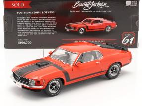 Ford Mustang Boss 302 Fastback year 1970 red / black 1:18 Highway61