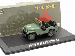 Jeep Willys M38 A1 1952 TV series M*A*S*H* (1972-83) olive 1:43 Greenlight
