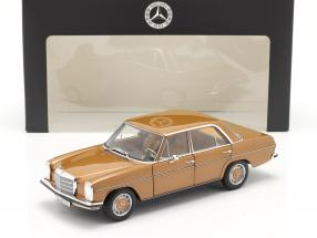 Mercedes-Benz 200 (W114/115) year 1968-73 bycance gold 1:18 Norev