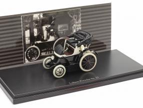 Lohner Porsche Nr. 27 Open Top year 1900 black / white 1:43 Fahr(T)raum