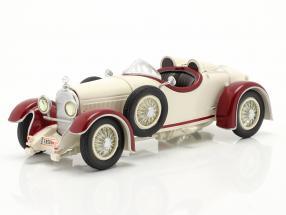 Austro Daimler ADR 6 Sport Torpedo year 1929 white / red 1:43 Fahr(T)raum