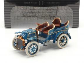 Lohner Porsche Mixte Hybrid year 1901 blue 1:18 Fahr(T)raum