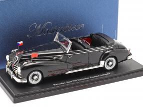 Mercedes-Benz 770 (W150) Sodomka 1952 Klement Gottwald 1:43 AutoCult
