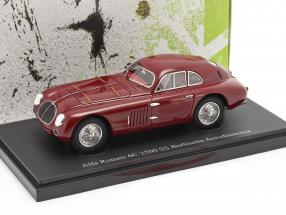 Alfa Romeo 6C 2500 SS Berlinetta Aerodinamica 1939 dunkelrot 1:43 AutoCult