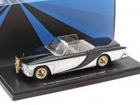 Brooks Stevens Scimitar Town Car Phaeton 1959 silber / schwarz 1:43 AutoCult