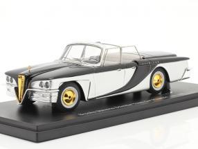 Brooks Stevens Scimitar Town Car Phaeton 1959 silver / black 1:43 AutoCult