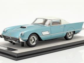 Ferrari 410 Superfast (0483SA) 1956 azure metallic / white 1:18 Tecnomodel