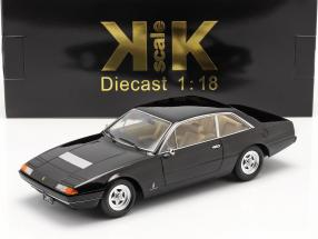 Ferrari 365 GT4 2+2 year 1972 black 1:18 KK-Scale