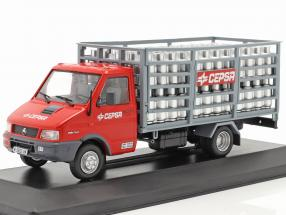 Pegaso Daily Truck Cepsa year 1994 red / grey 1:43 Altaya