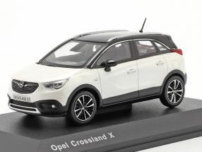 Opel Crossland X white metallic 1:43 iScale