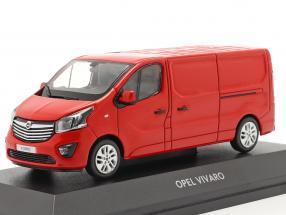 Opel Vivaro Van rot 1:43 iScale