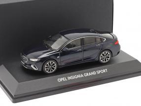 Opel Insignia Grand Sport tiefsee blau 1:43 iScale