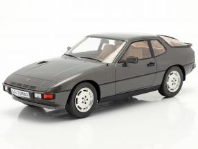 Porsche 924 Turbo year 1979 dark gray metallic 1:18 Model Car Group