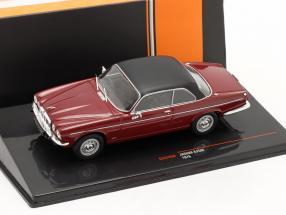 Jaguar XJ12C year 1976 dark red / black 1:43 Ixo