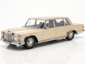 Mercedes-Benz 600 SWB (W100) year 1963 light gold metallic 1:18 KK-Scale