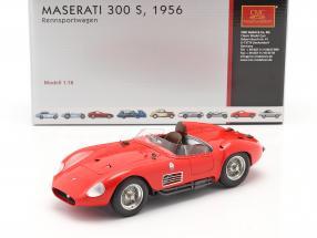 Maserati 300 S race car 1956 red 1:18 CMC