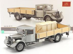 Mercedes-Benz LO 2750 LKW Clear-Finish version Year 1933-1936 silver 1:18 CMC