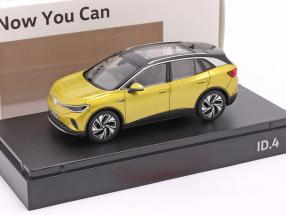 Volkswagen VW ID.4 year 2021 honey yellow metallic 1:43 Norev
