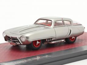 Pegaso Z-102 Cupula Coupe year 1953 silver 1:43 Matrix