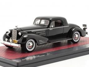 Cadillac V16 Series 90 Fleetwood Coupe year 1937 black 1:43 Matrix