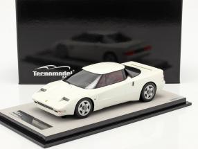Ferrari 408 4RM year 1987 avus white 1:18 Tecnomodel