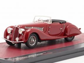 Delahaye 135MS Grand Sports Open Roadster Figoni Falaschi 1939 red 1:43 Matrix