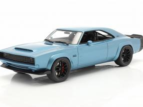 Dodge Super Charger Concept Car year 2018 blue 1:18 GT-SPIRIT