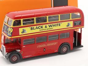 AEC Regent III RT RHD London Transport Bus year 1939 red 1:43 Ixo