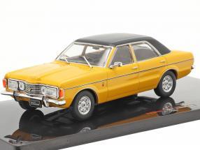 Ford Taunus GXL year 1983 yellow / black 1:43 Ixo