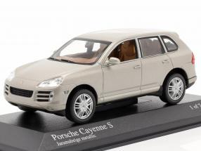 Porsche Cayenne S Year 2007 beige 1:43 Minichamps