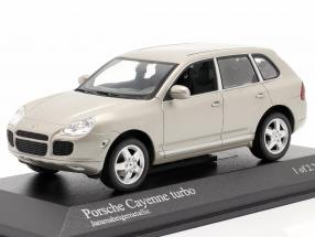 Porsche Cayenne Turbo Year 2002 beige 1:43 Minichamps