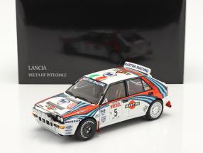 Lancia Delta HF Integrale #5 Winner Rallye SanRemo 1992 1:18 Kyosho