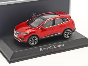 Renault Kadjar year 2020 flame red 1:43 Norev