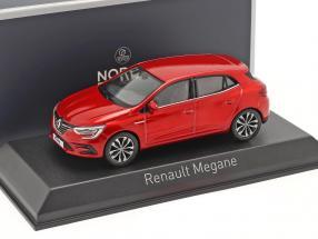 Renault Megane year 2020 flame red 1:43 Norev