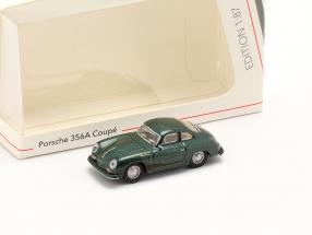 Porsche 356A Coupe dark green metallic 1:87 Schuco