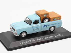 Peugeot T4B Pick-Up RH Automotores 1967 light blue 1:43 Altaya