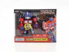 Autobot G1 Optimus Prime Movie Transformers 4 inch Jada Toys