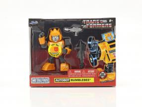 Autobot G1 Bumblebee Movie Transformers yellow 4 inch Jada Toys