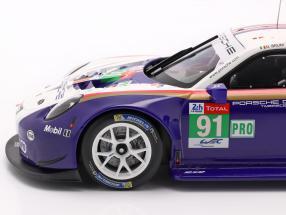 Porsche 911 (991) RSR #91 2nd LMGTE Pro 24h LeMans 2018