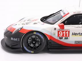 Porsche 911 (991) RSR #911 24h Daytona 2018 Porsche GT Team