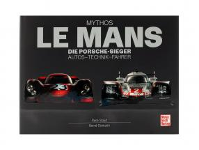Book: myth LeMans - The Porsche Winners. Cars - Technology - Drivers