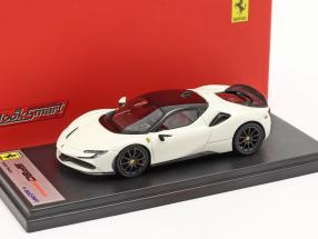 Ferrari SF90 Stradale year 2019 avus white / black 1:43 LookSmart
