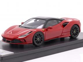 Ferrari F8 Tributo year 2019 corsa red metallic / black 1:43 LookSmart