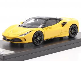 Ferrari F8 Tributo year 2019 modena yellow / black 1:43 LookSmart