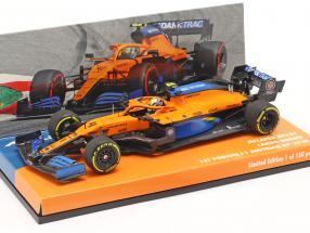 L. Norris McLaren MCL35 #4 1st Podium Austrian GP formula 1 2020 1:43 Minichamps