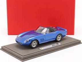 Ferrari 275 GTS/4 NART Steve McQueen 1967 blue metallic 1:18 BBR