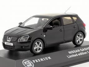 Nissan Qashqai Baujahr 2007 black 1:43 Triple 9