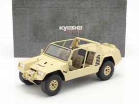 Lamborghini Cheetah year 1977 khaki 1:18 Kyosho