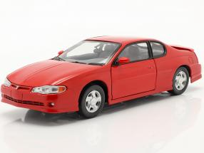 Chevrolet Monte Carlo SS Year 2000 red 1:18 SunStar