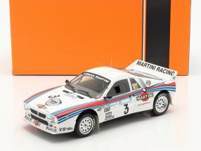 Lancia 037 Rally #3 Winner Rallye Acropolis 1983 Röhrl, Geistdörfer 1:18 Ixo